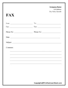 How To Write a Fax Cover Letter