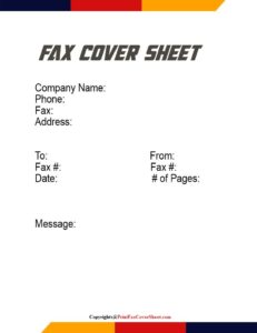 How To Make a Fax Cover Sheet