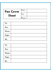 Confidential Fax Cover Sheet Letter pdf