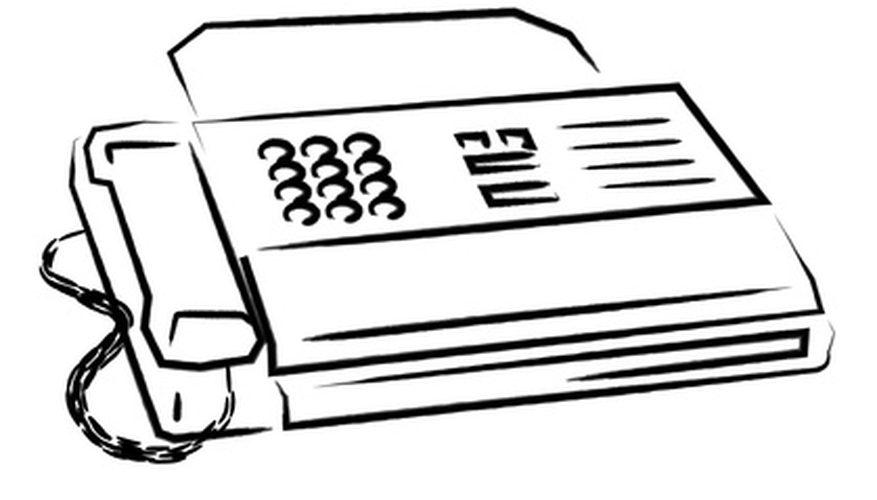 Write Fax Cover Sheet