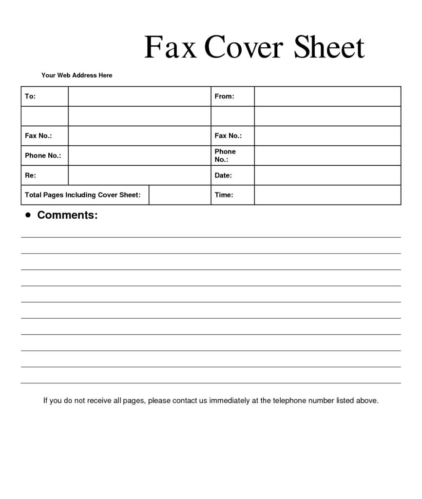 HIPAA Compliant Fax Cover Sheet